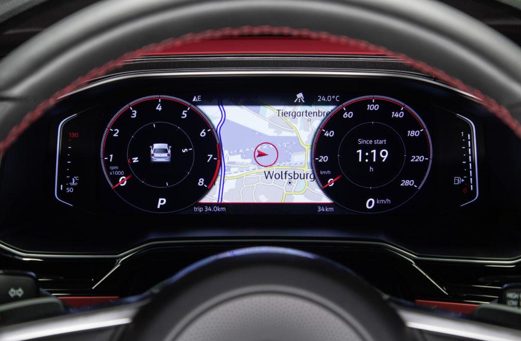 """Das """"Active Info Display"""" im VW Polo GTI kostet 400 Euro Foto: VW"""