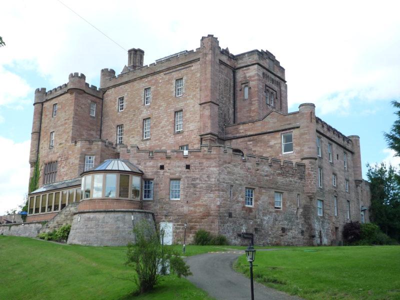 Dalhousie Castle in Schottland