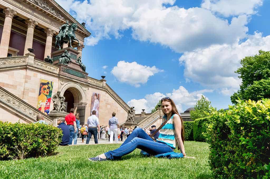 Das Alte Museum in Berlin, ein Bauwerk von Karl Friedrich Schinkel
