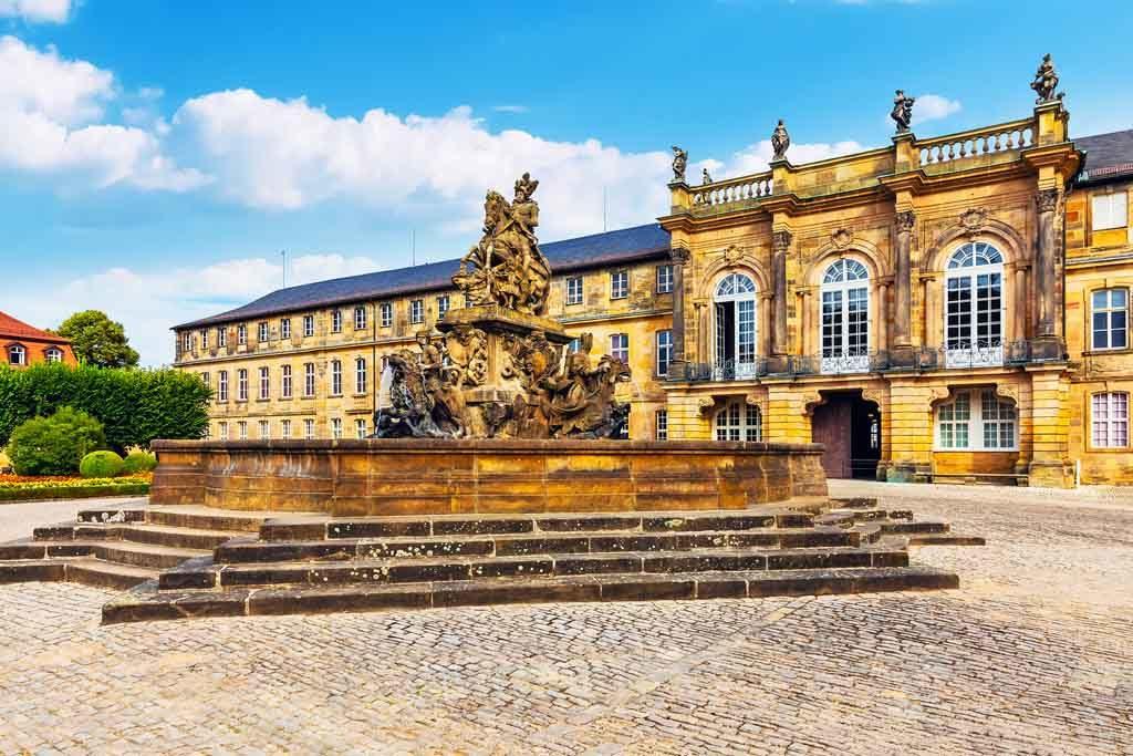 Das Neue Schloss von Bayreuth
