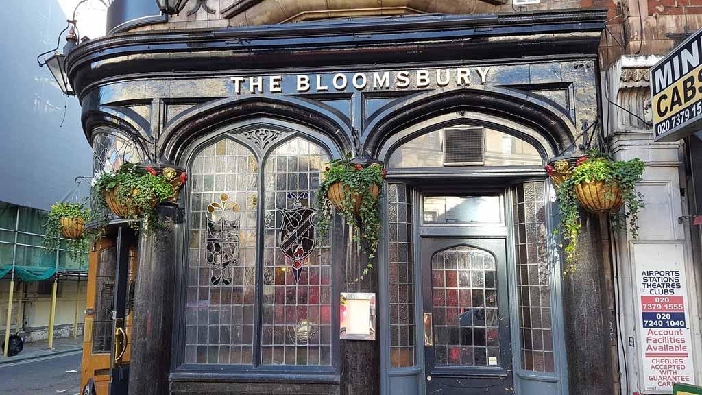 Bloomsbury Pub in London