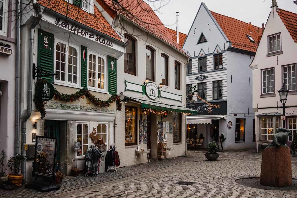 Die Altstadt von Bremen