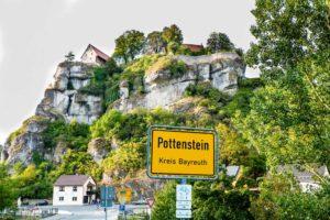 Burg Pottenstein in der Nähe von Bayreuth