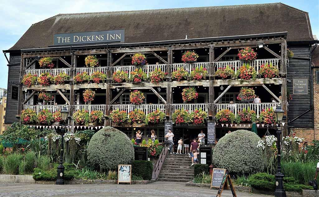 Dickens Inn Pub in City of London