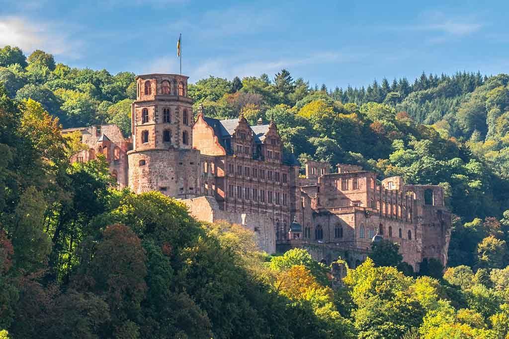 Das Schloß von Heidelberg