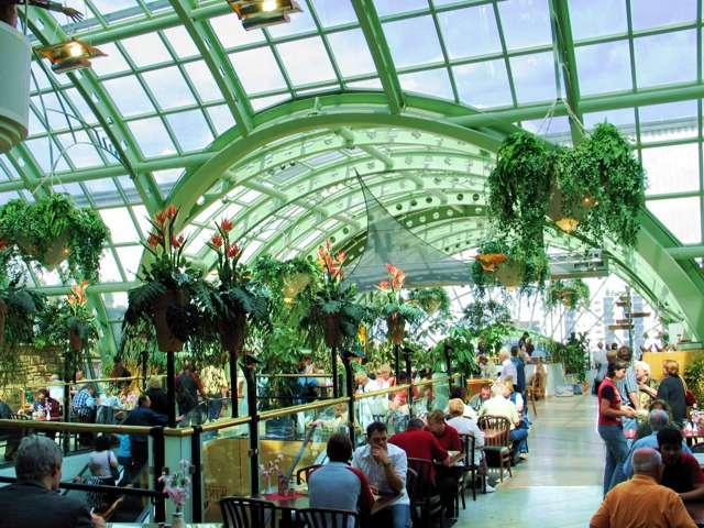 Der Wintergarten im Kaufhaus des Westen