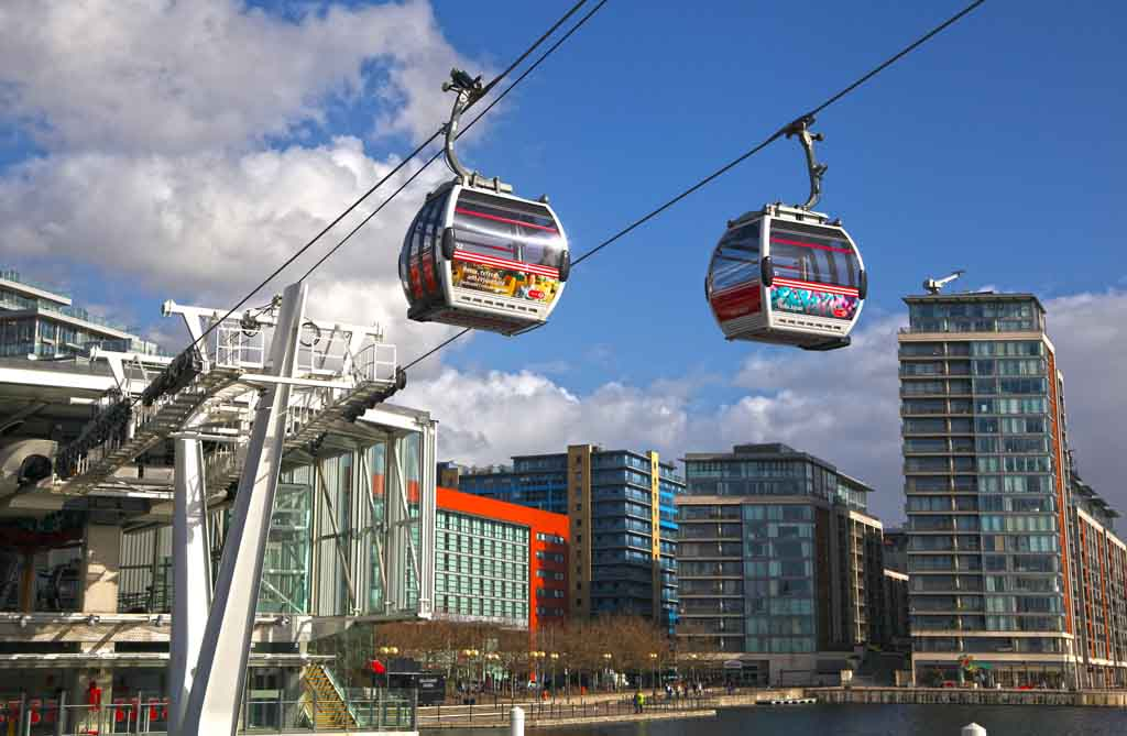 Die Emirates Air Line, London
