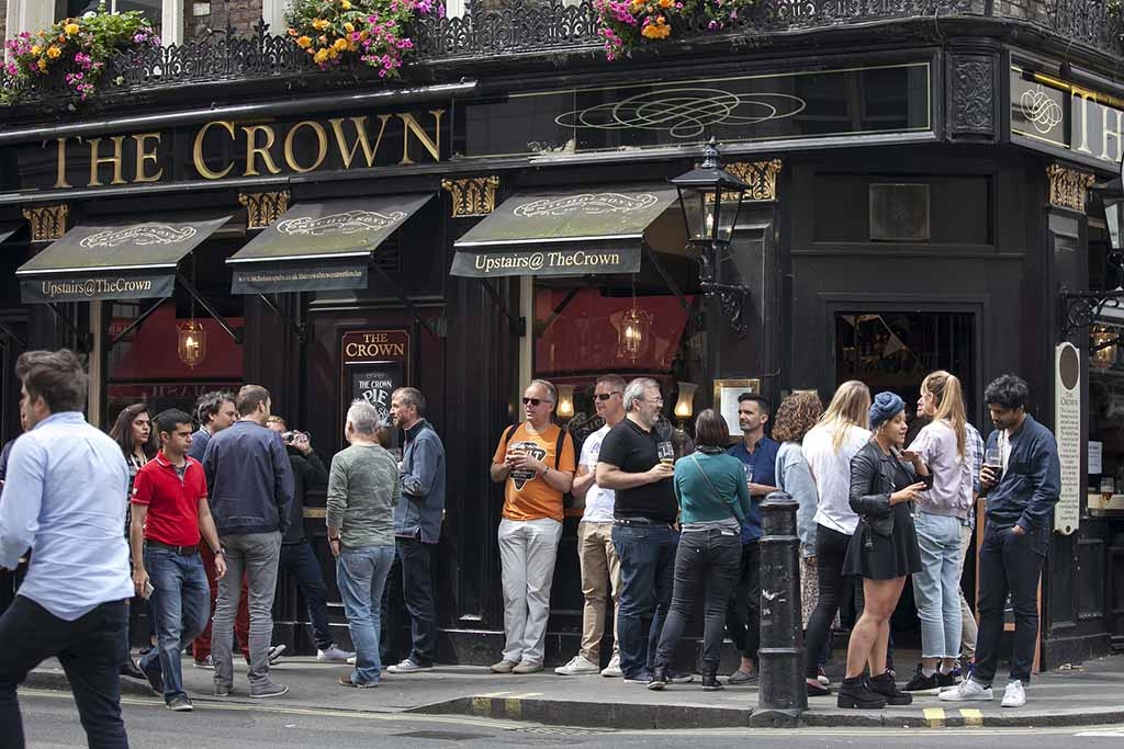 The Crown Pub in London