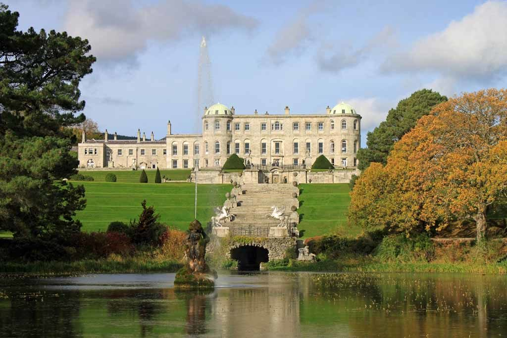 Die Garten von Powerscourt zählt laut National Geographic zu den zehn schönsten Gärten der Welt