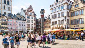 Der Kreuz-Markt von Trier