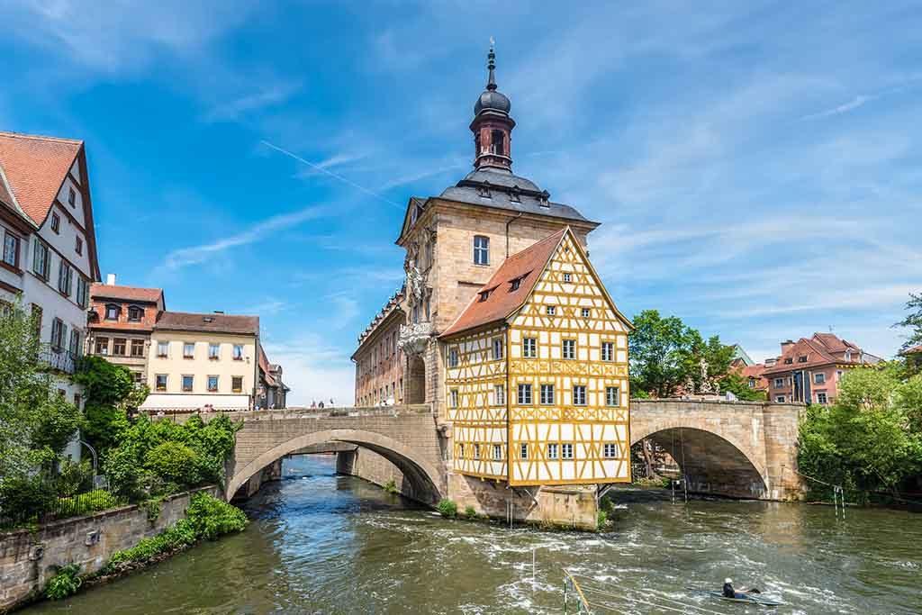 Bamberg ist eine beschauliche Stadt an der Regnitz