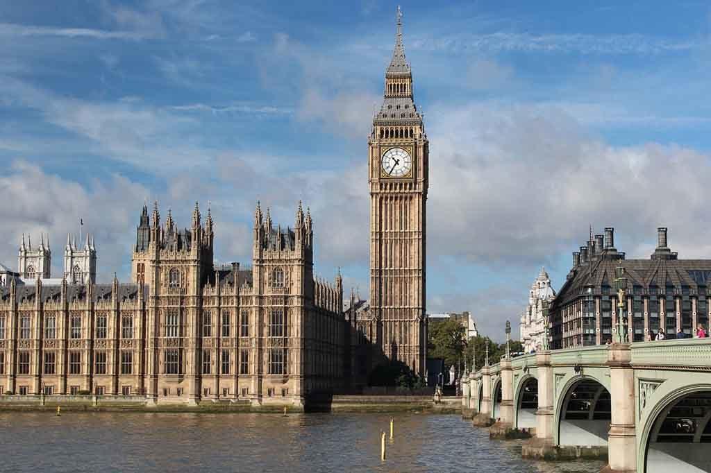 Der Big Ben ist wohl das bekannteste Wahrzeichen von London