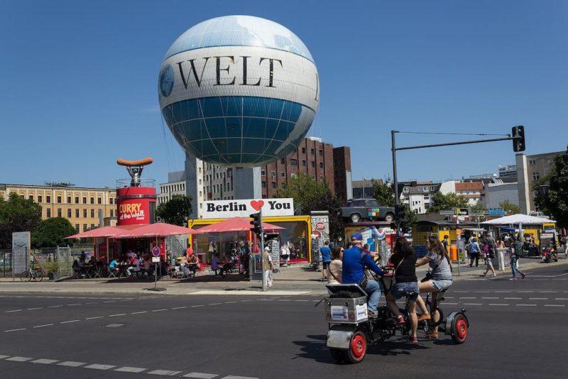 Der Hi-Flyer - Fesselballon in Berlin