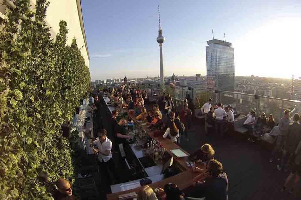 Die Weekend-Dachterrasse, Berlin Foto: House of Weekend