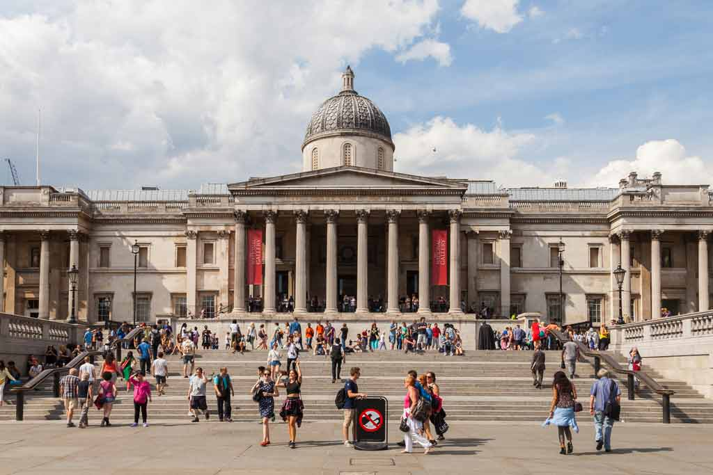 Nationalgalerie am Trafalgar Square, London