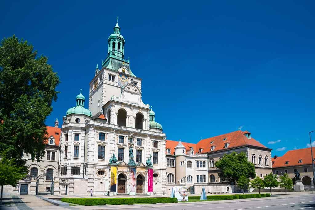 Das Bayerische Nationalmuseum in München