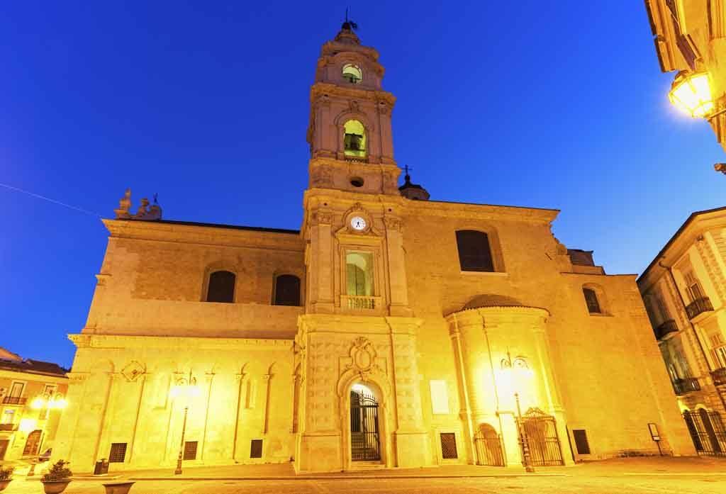 Cattedrale did Santa Maria in Foggia, Italien