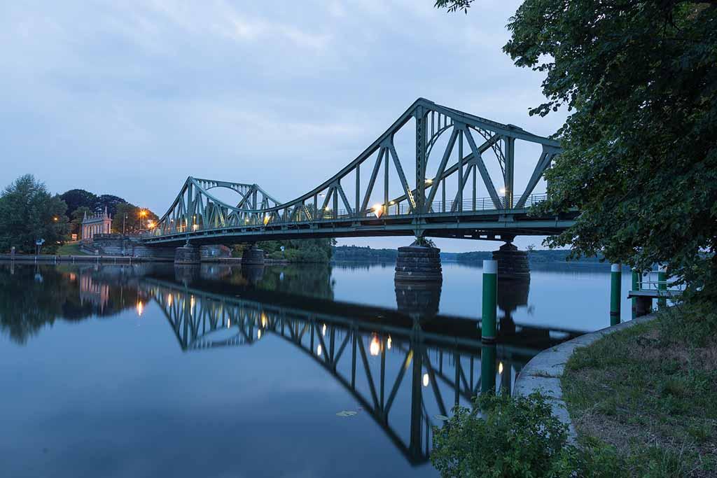 Die Glienicker Brücke in Potsdam