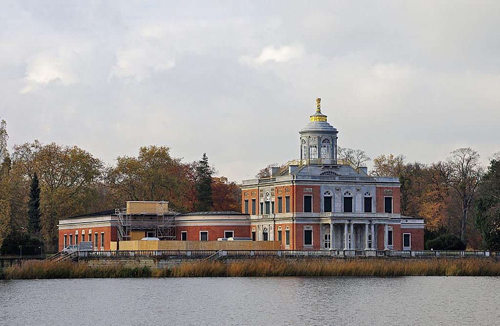 Im Marmorpalais wohnte Friedrich Wilhelm II.