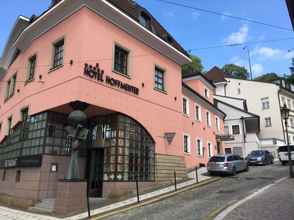 """Hotel """"Hoffmeister Foto: F. Moritz"""