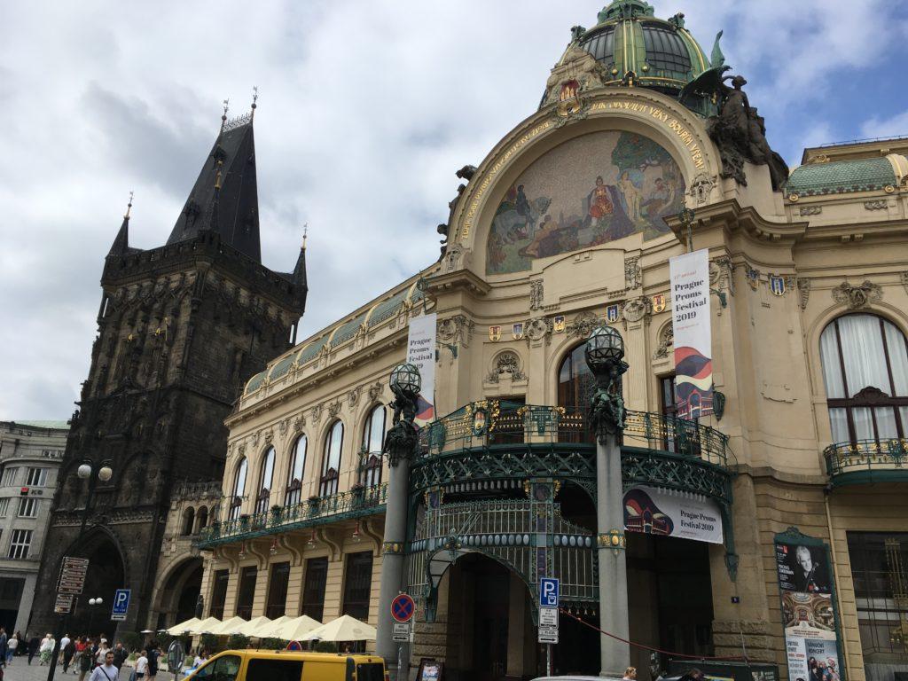 Der Pulverturm (links) Foto: F. Moritz