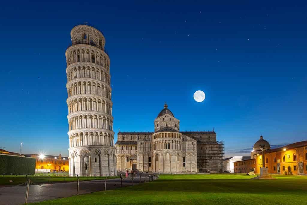 Der Schiefe Turm von Pisa, Italien