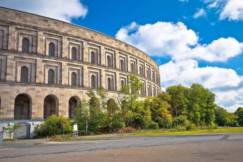 Das Reichsparteitagsgebäude in Nürnberg