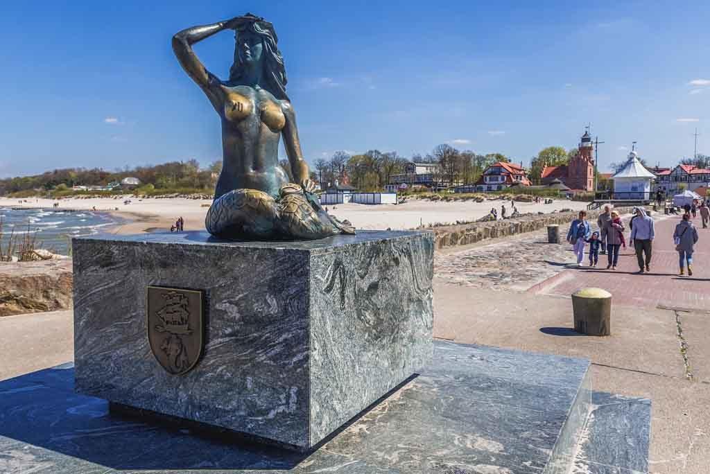 Ustka in Polen ist wegen seiner Wellness- und Kurangebote bekannt