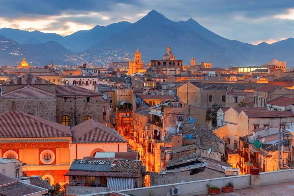 Palermo ist eine typische italieneische Stadt auf Sizilien