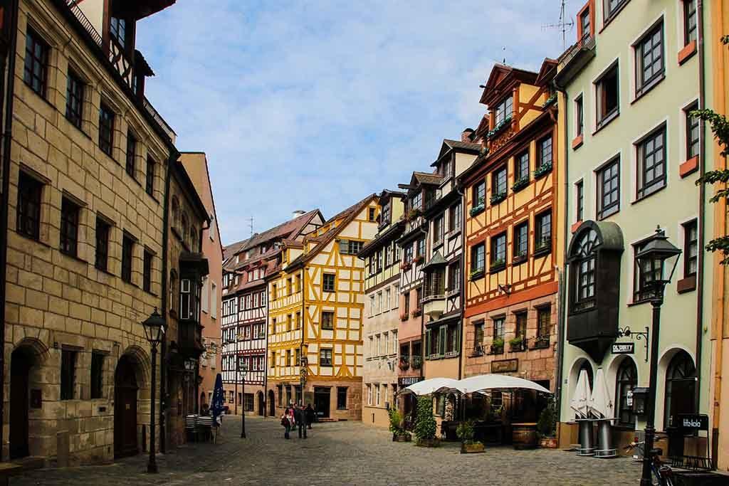 Die Altstadt von Nürnber