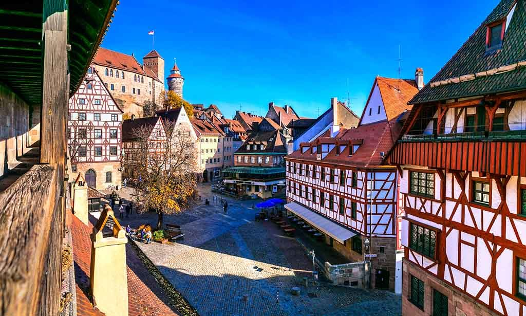 Historische Meile in Nürnberg