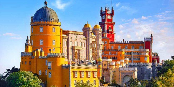 Der Palácio da Pena in Sintra, Portugal