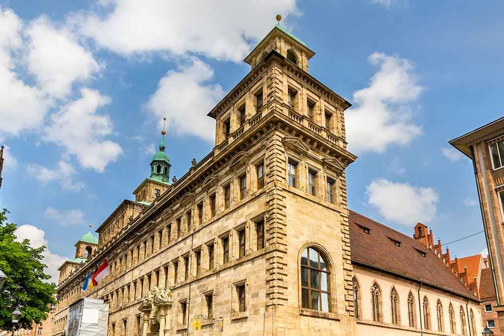 Das alte Rathaus in Nürnberg