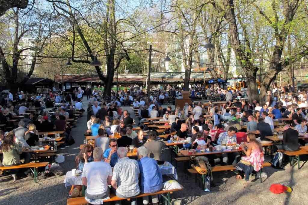 Augustinerbiergarten