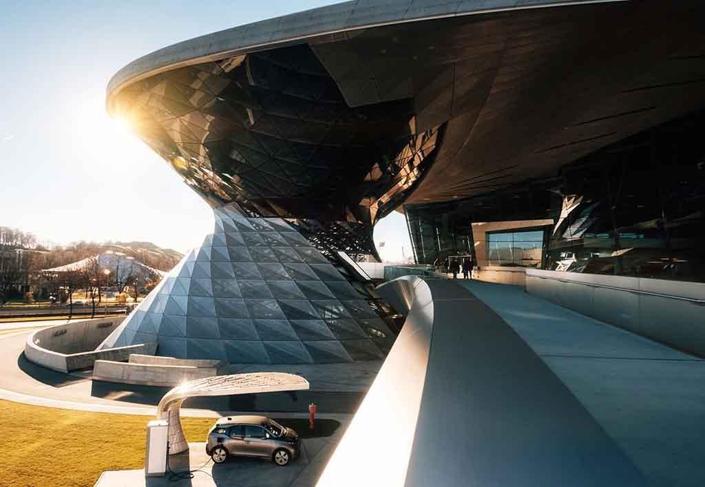 BMW Welt am Münchner Olympiapark