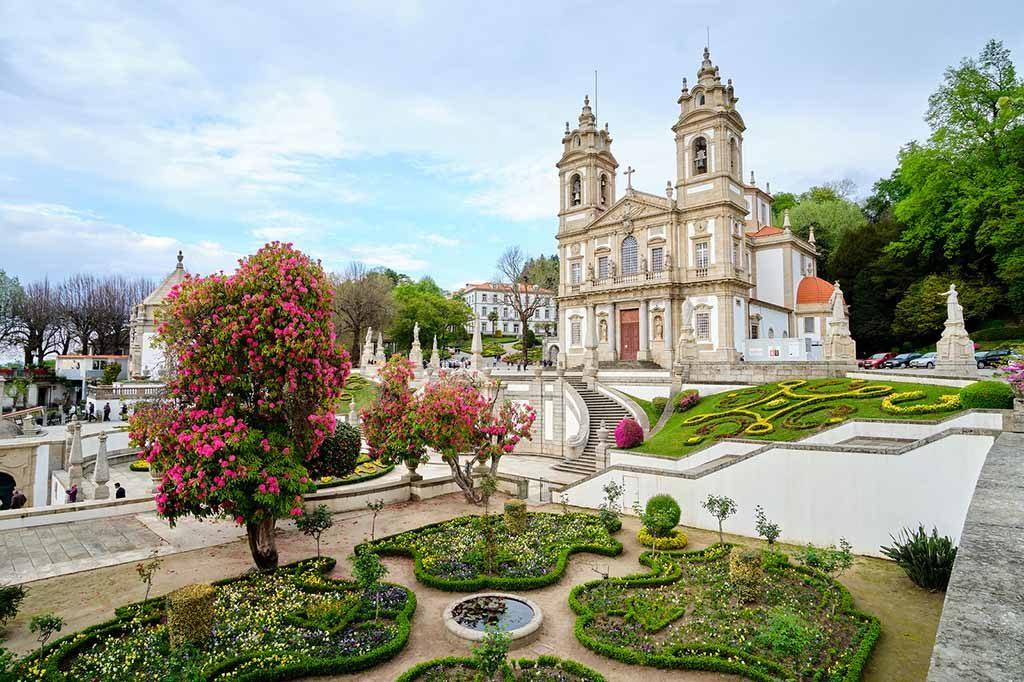 Die Bom Jesus do Monte Braga in Braga, Portugal