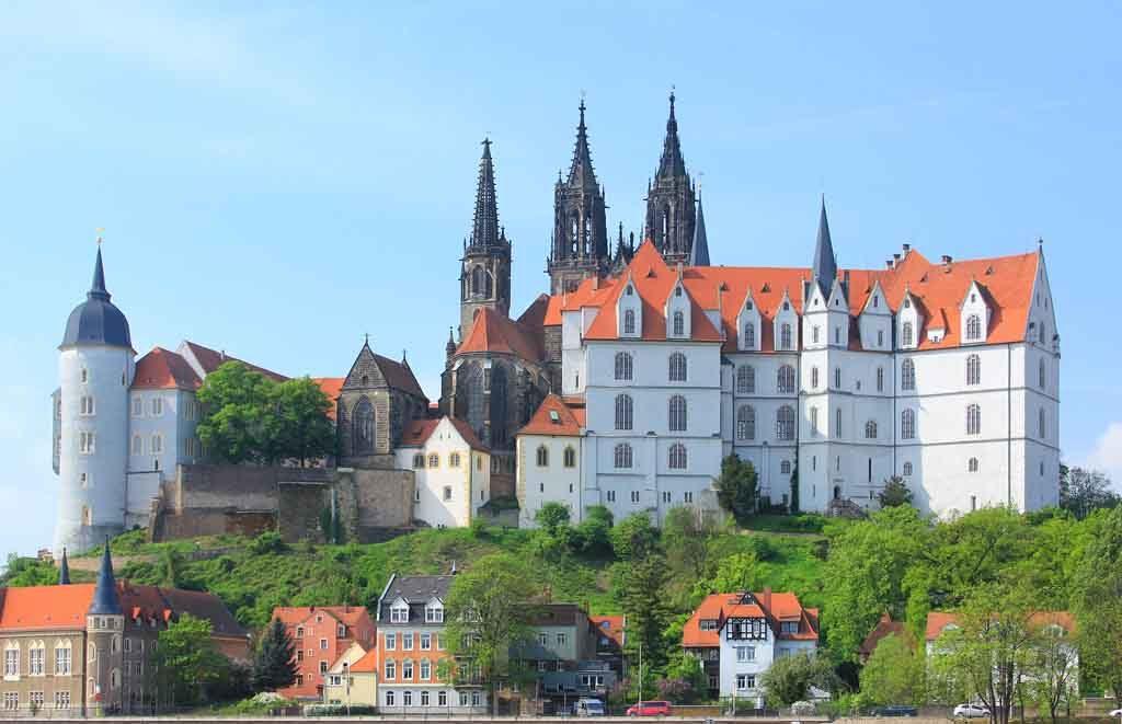 Die Albrechtsburg in Meissen