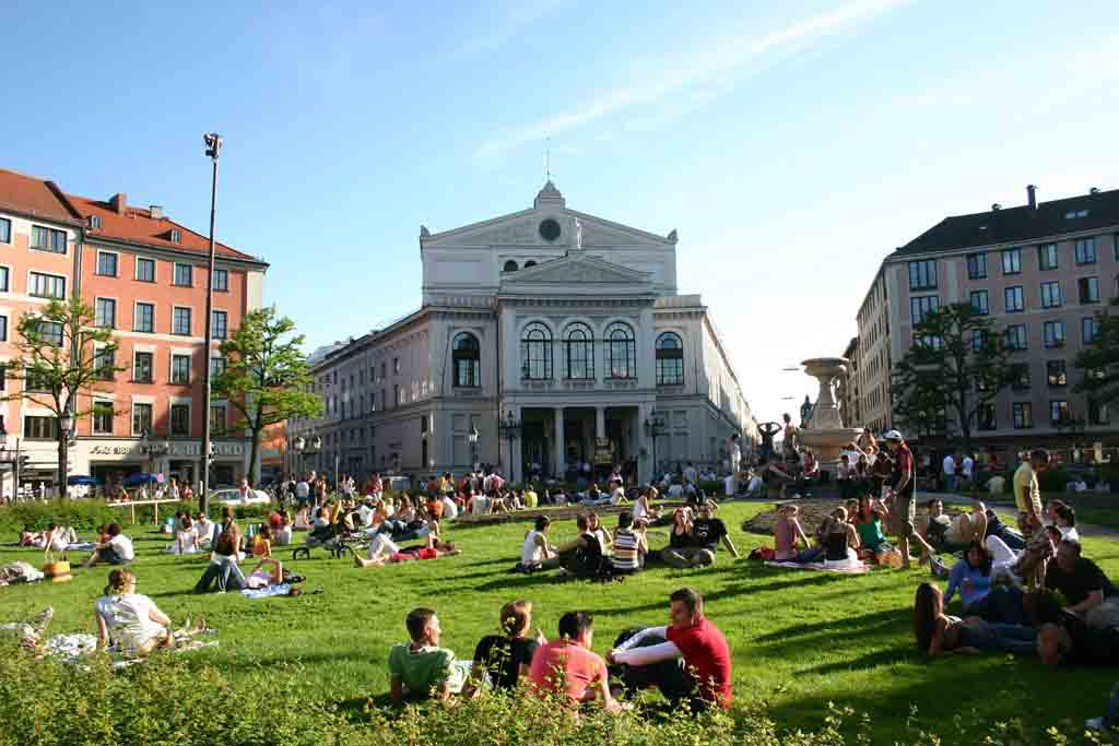 Gärtnerplatzviertel und Glockenbachviertel gehören zur Isarvorstadt in München