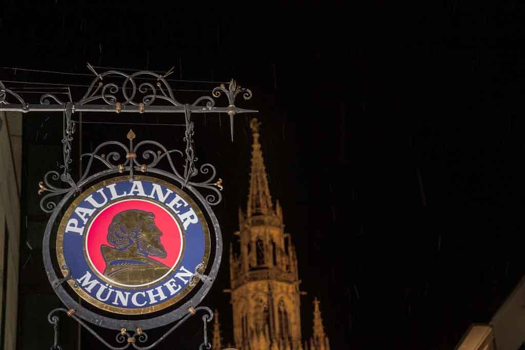 Paulaner gehört zu den dominierenden Biersorten in München