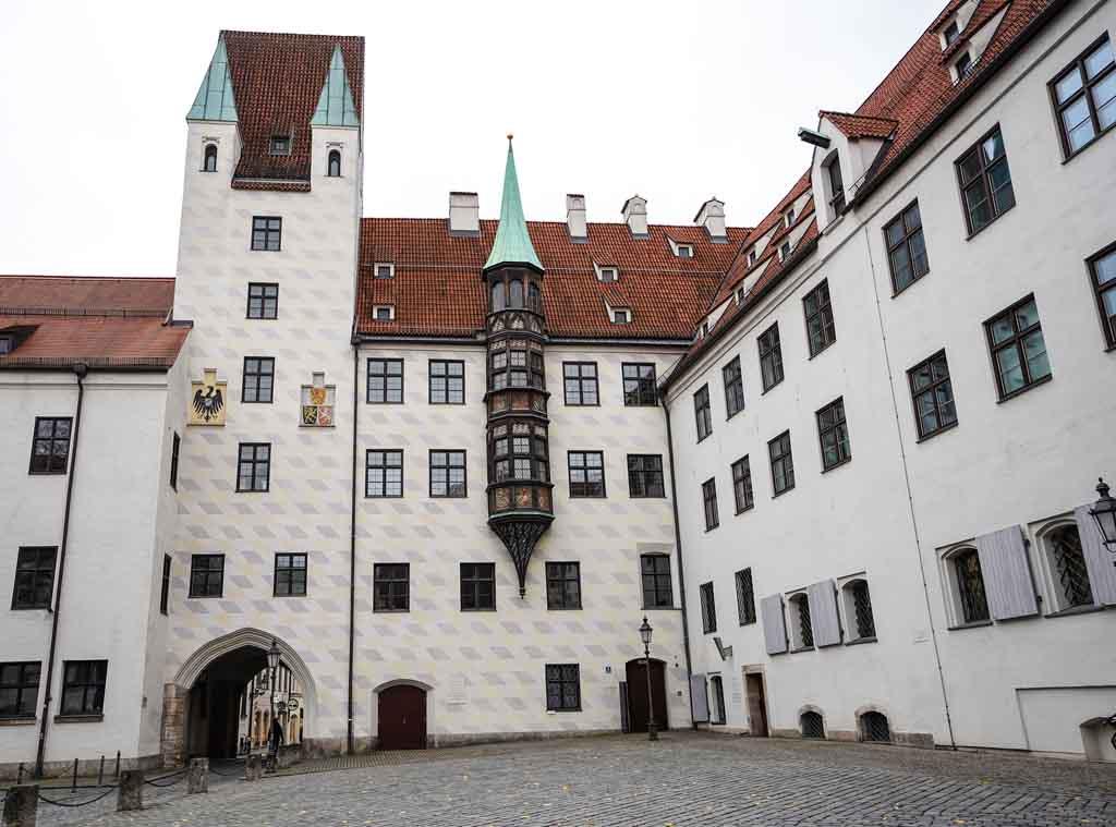 Der Alte Hof ist die ehemalige Residenz von Ludwig IV.