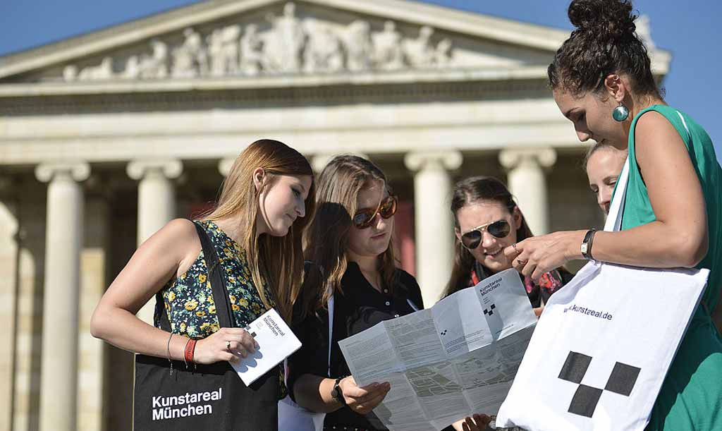 Rund 1,5 Millionen Besucher zählt das Kunstareal München jedes Jahr