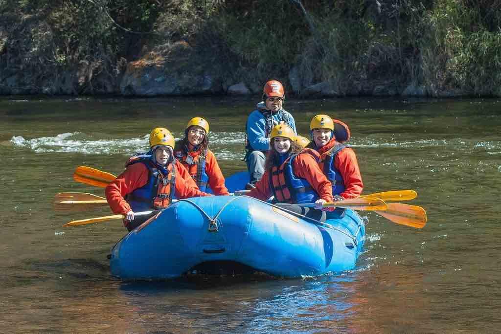 Wildwasser Rafting auch der Isar