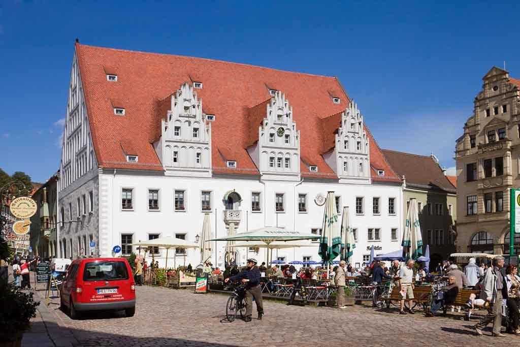 Das Rathaus in Meißen
