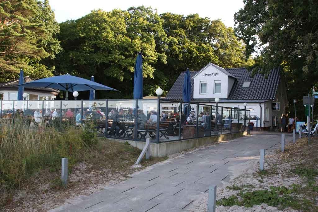 Das Strandcafé von Tiessow