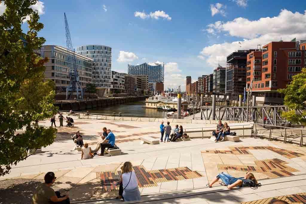 Hamburgs HafenCity ist Europas größtes Städtebauprojekt