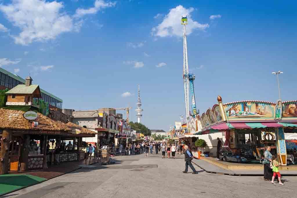 Hamburger Dom ist das größte Volksfest im Norden Deutschlands