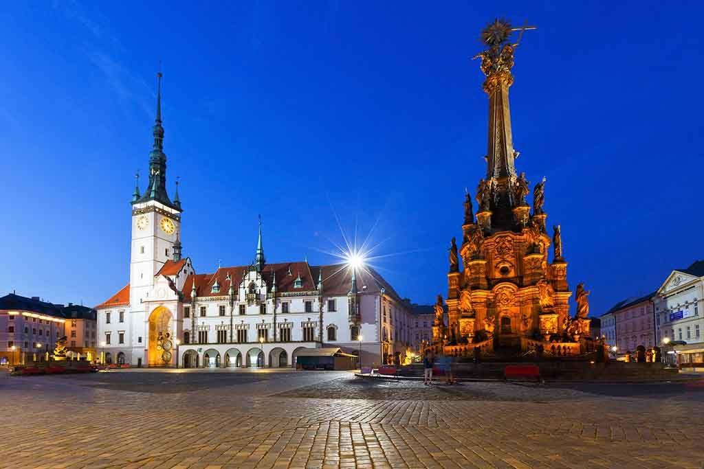 Olmütz in Tschechien