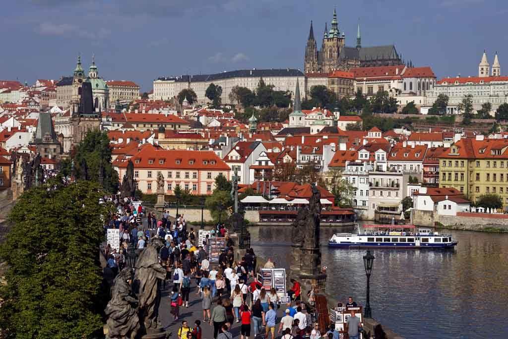 Der historische Stadtkern von Prag gehört zu den schönsten Altstädten in Tschechien