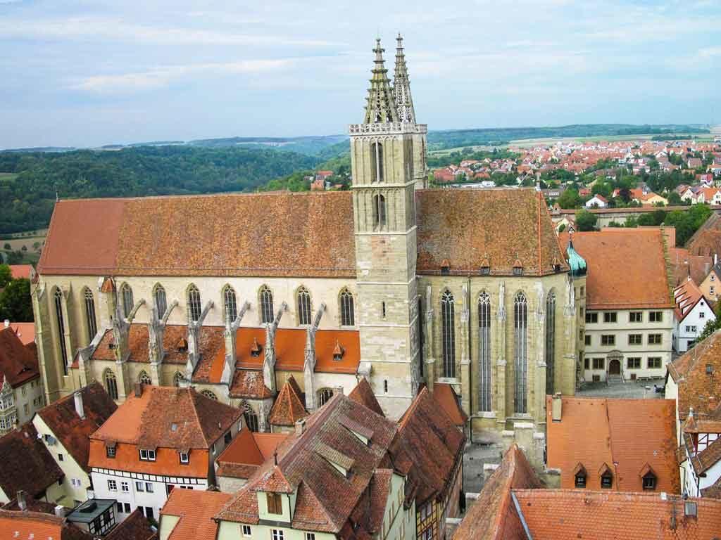 Die Stadtkirche St. Jakob von Rohtenburg