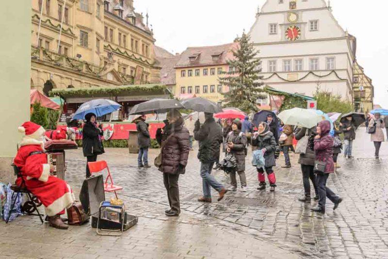 Der weihnachtliche Reiterlesmarkt in Rothenburg ob der Tauber sit weltberühmt